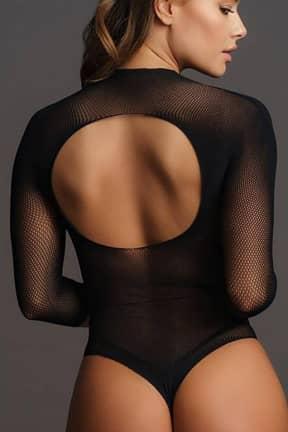 Lingeri Le Désir Short sleeve teddy black