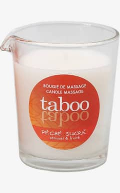 Bedre sex Taboo Peche Massage Candle