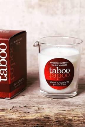 Bedre sex Taboo Jeux Interdits Massage Candle