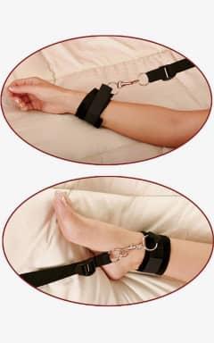 Håndjern & Opbinding Bed Bindings Restraint Kit