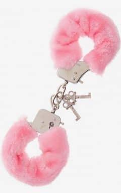 Pipedream Furry Love Cuffs - Lyserød