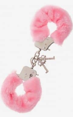 Bondage / BDSM Furry Love Cuffs - Lyserød