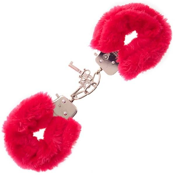 Furry Love Cuffs - Rød