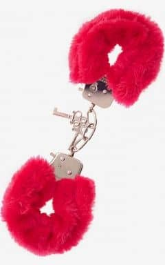 Bondage / BDSM Furry Love Cuffs - Rød
