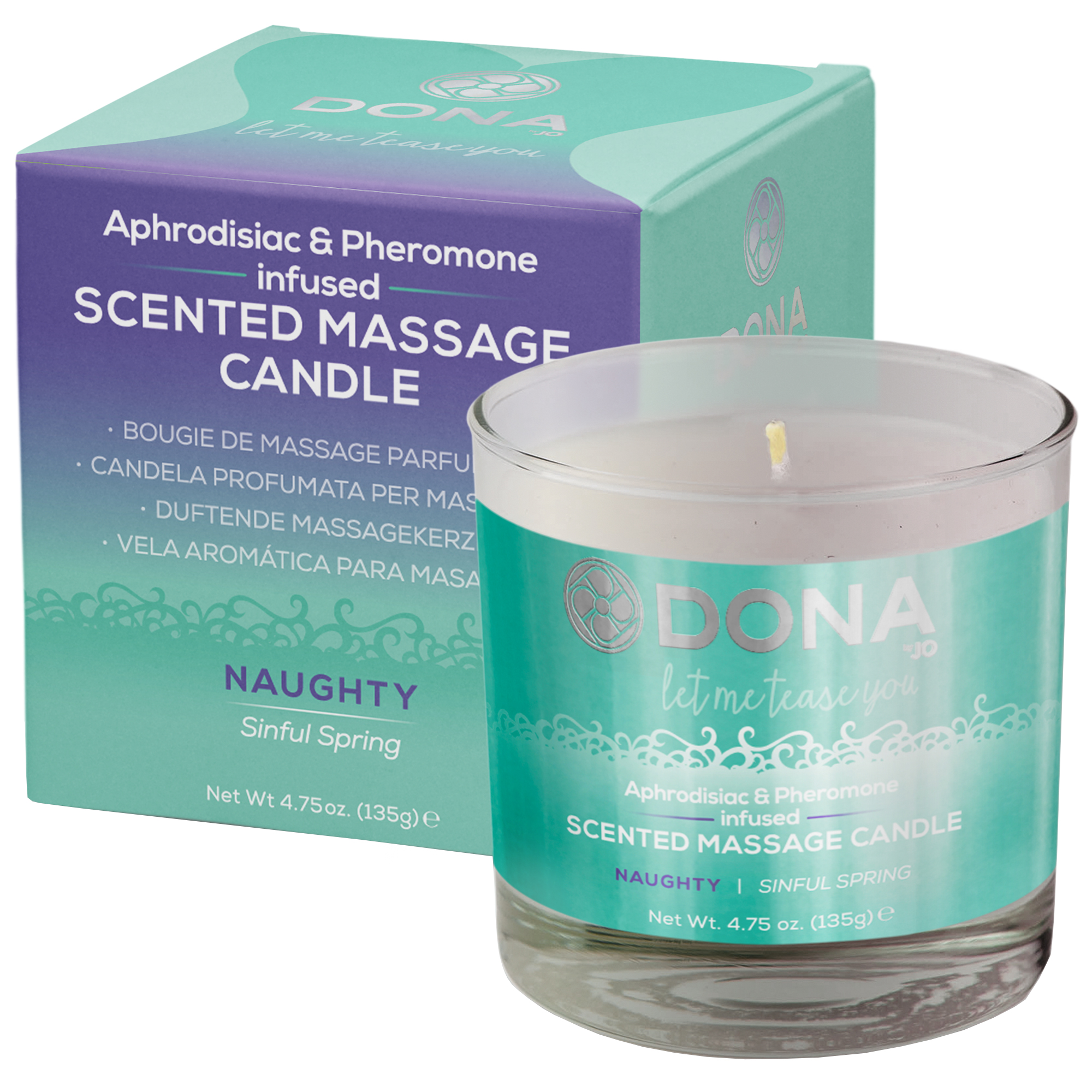 Image of   Dona scented massage candle - Naughty