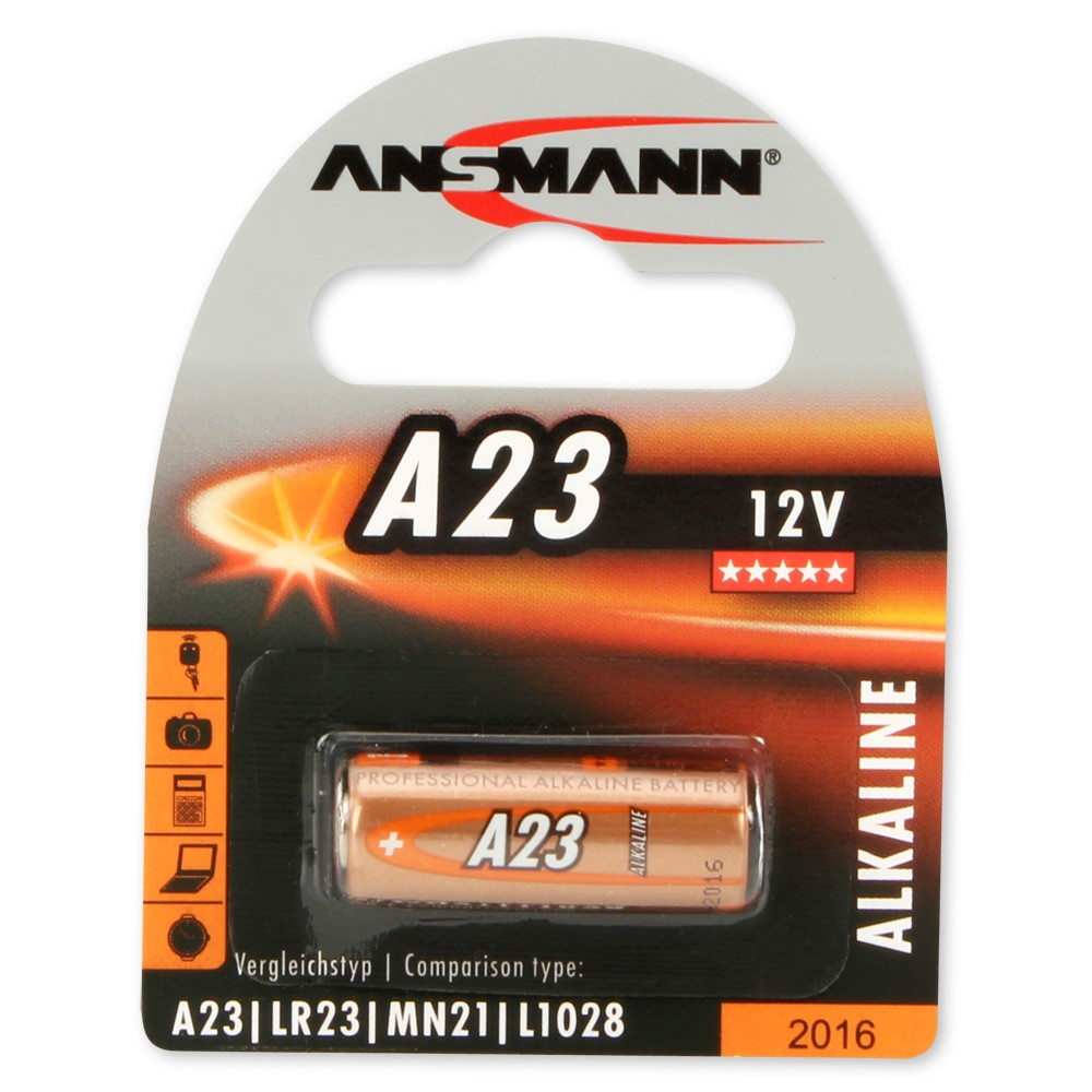 Image of   Batteri A23 12V (Ansmann)