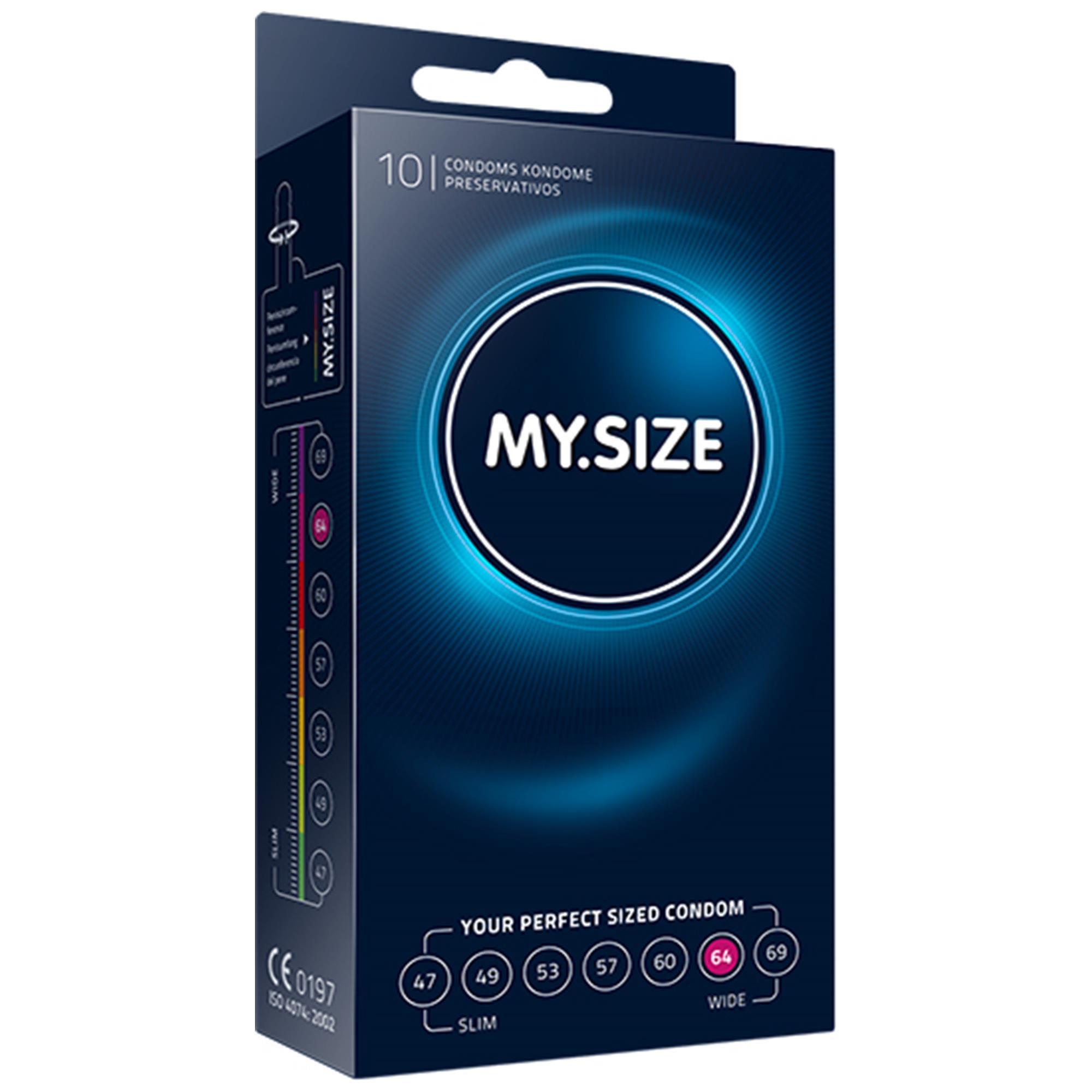 Image of   My Size Kondom 64 mm - 10-pack