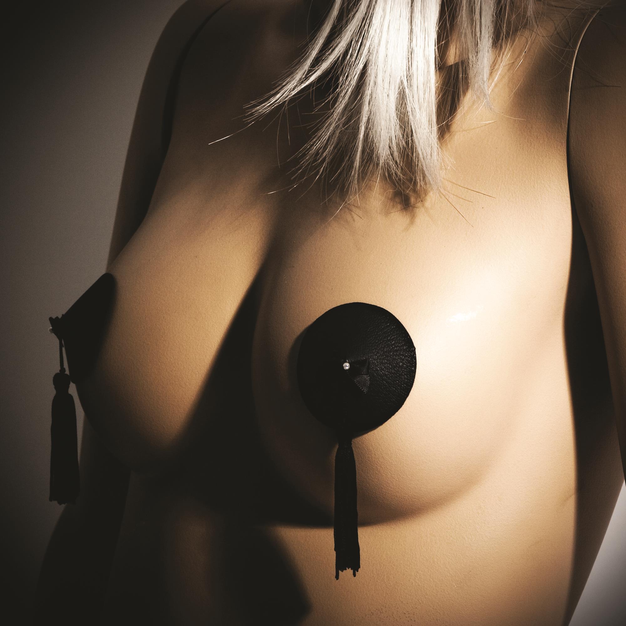 Køb Bijoux Indiscrets Burlesque Pasties Black