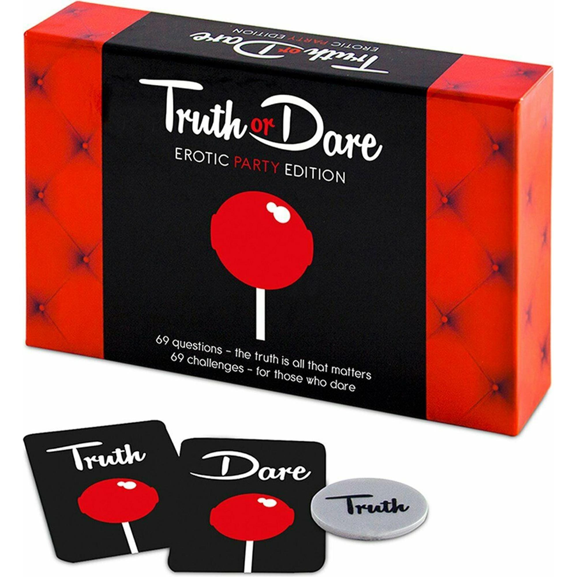 Image of   Truth Or Dare Erotic Party Edition