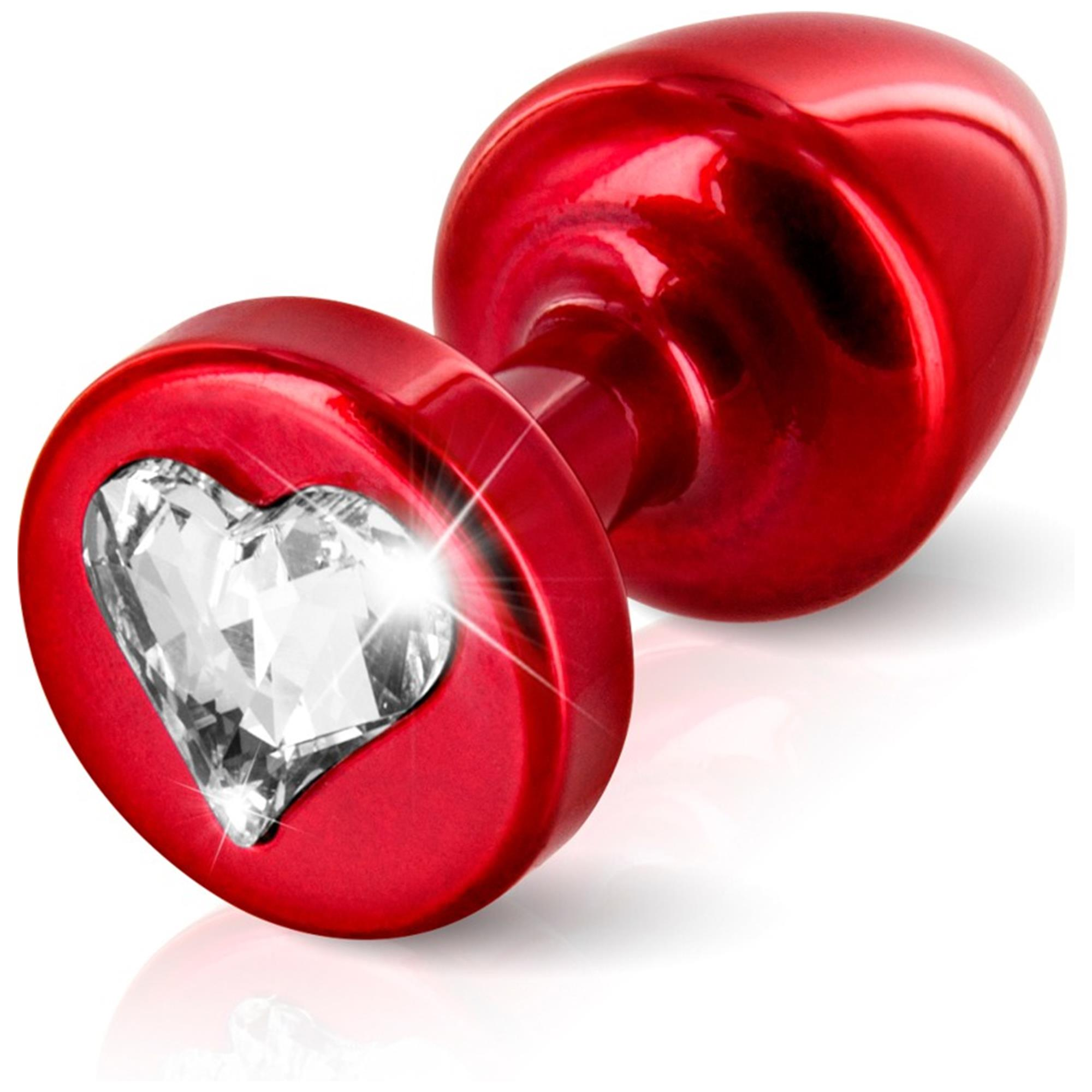 Image of   Anni R Heart Red T1 Crystal