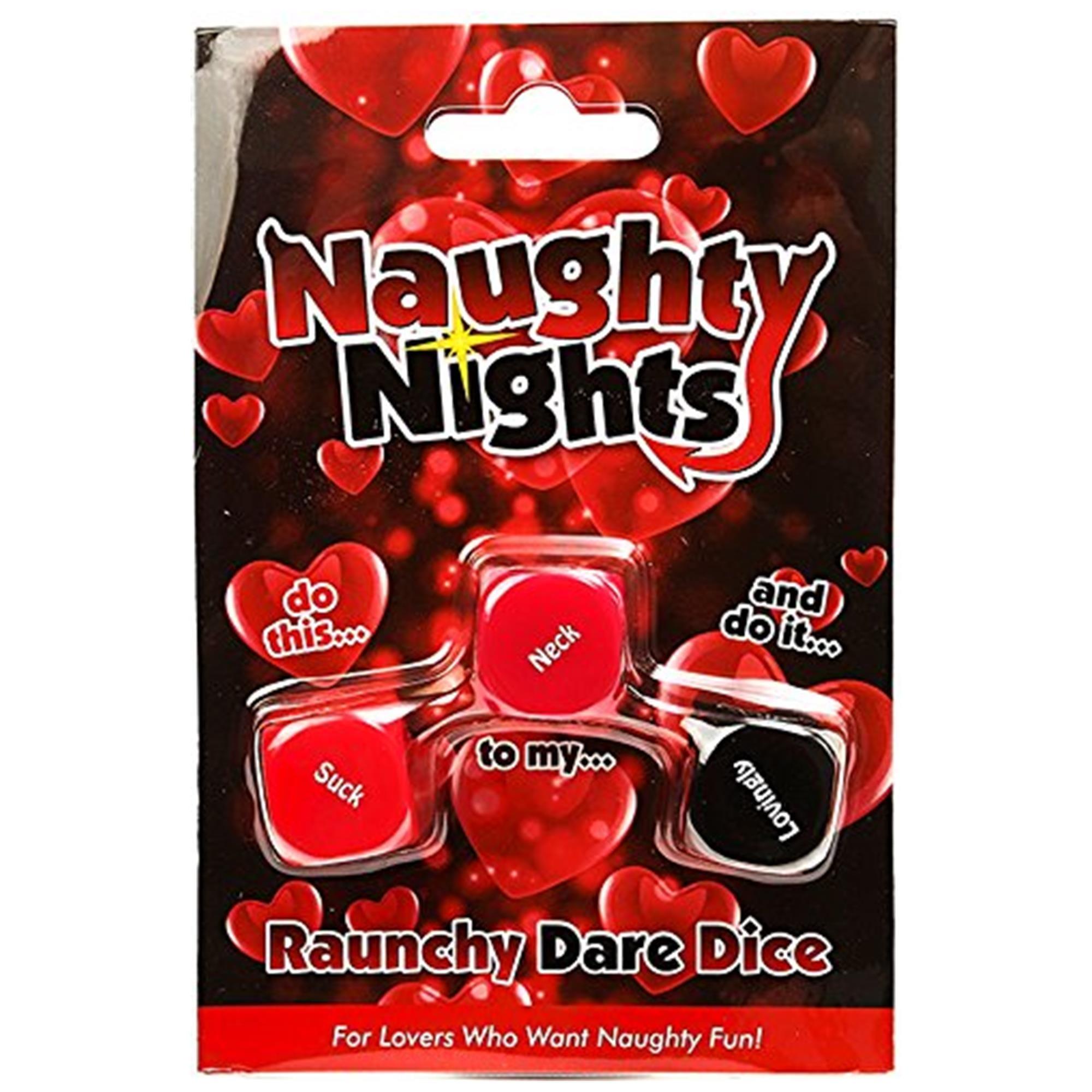 Image of   Naughty Nights - Raunchy Dare Dice