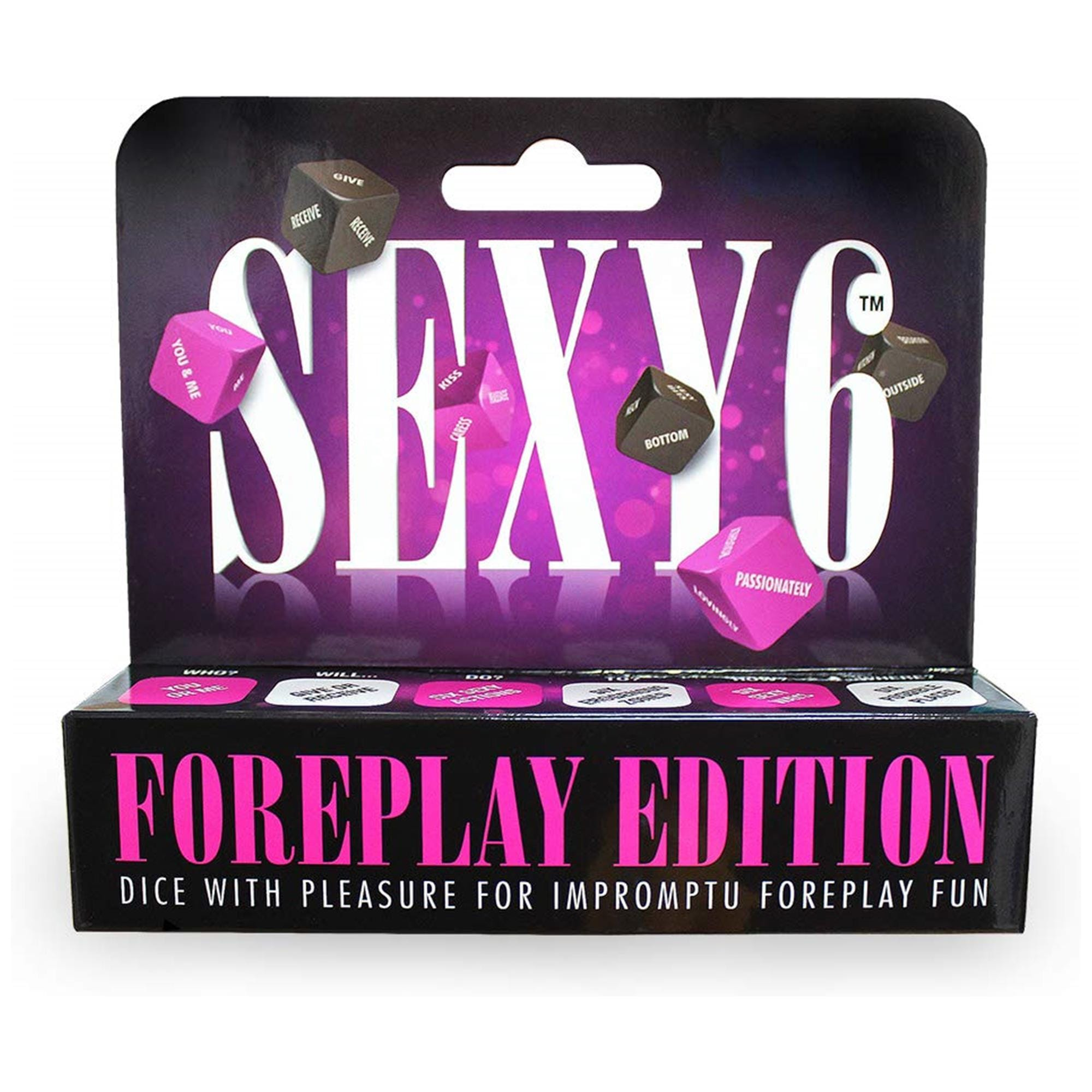 Image of   Sexy 6 Dice Foreplay