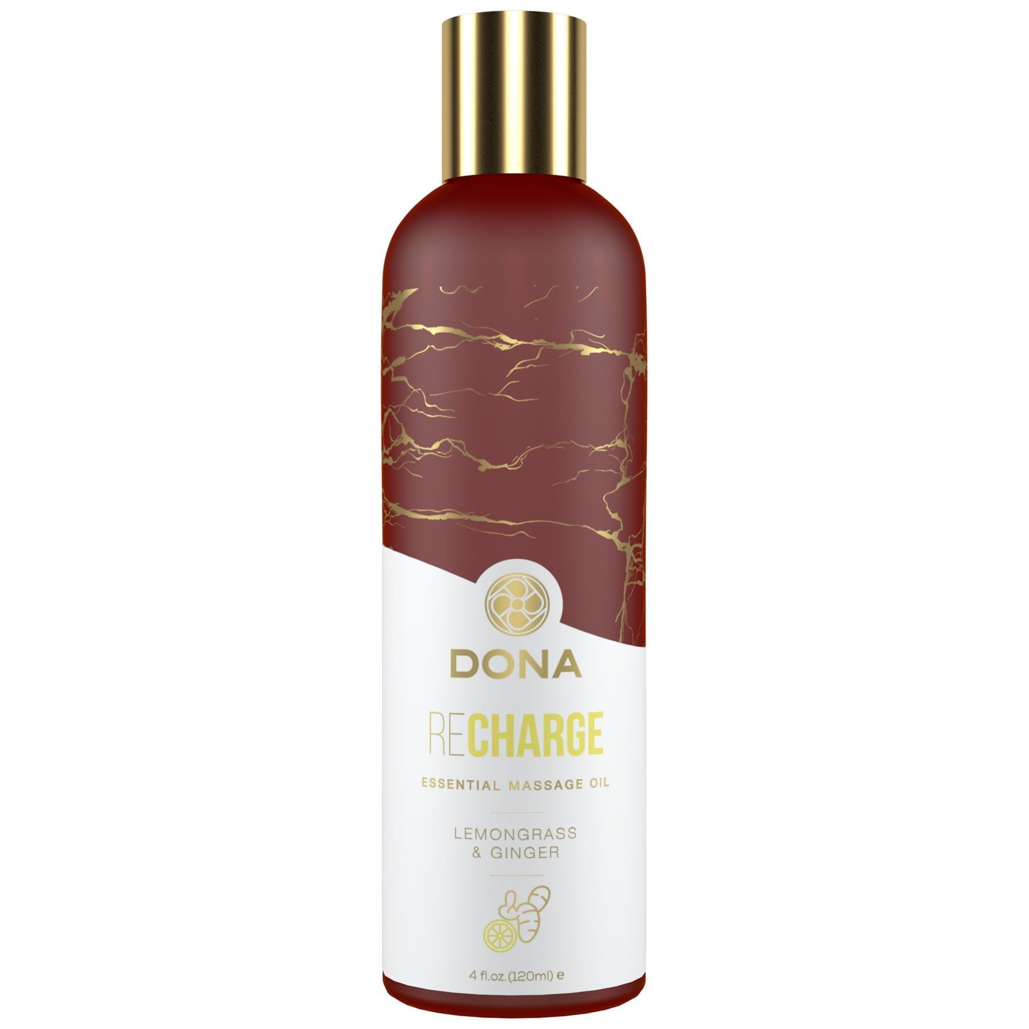 Køb Dona – Massage Oil Lemongrass & Ginger 120 ml