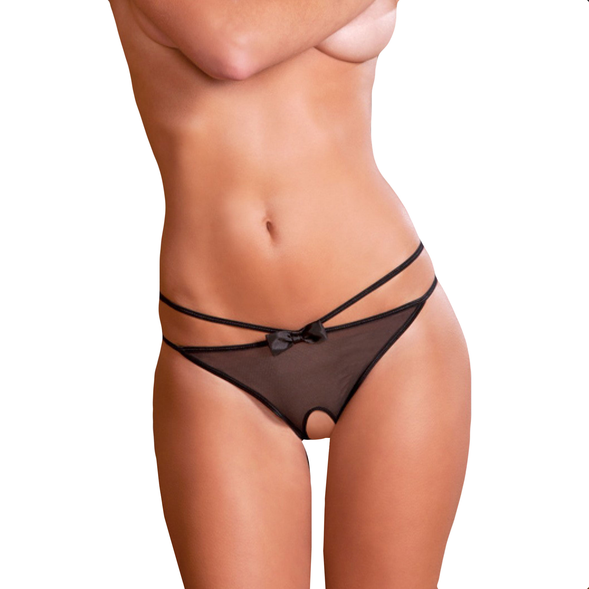 Image of   Crotchless Femme Fatale - Small/Medium