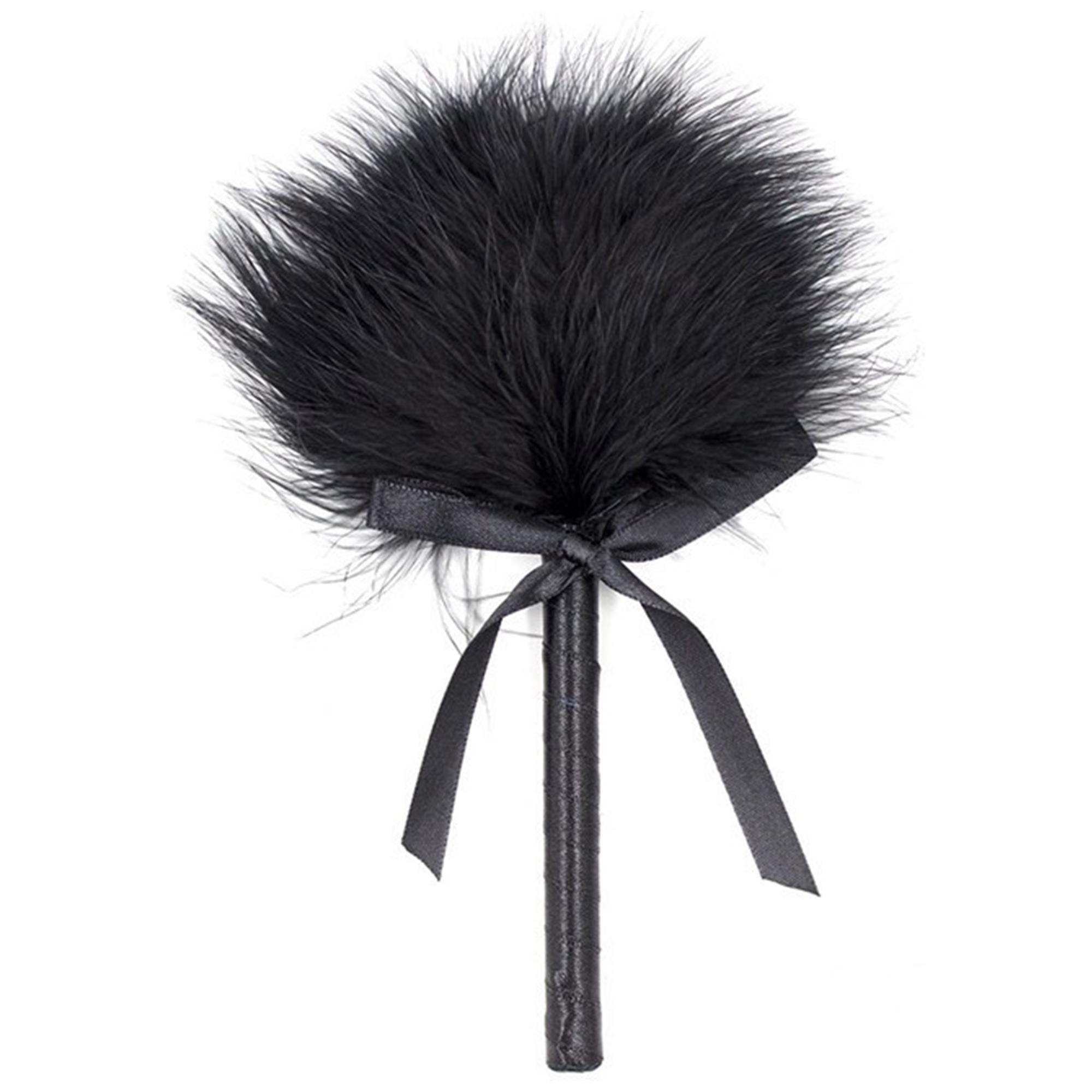 Køb Feather Tickler Black