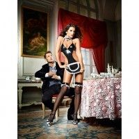 Baci - At Your Service French Maid Set - One Size