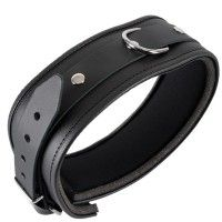 Padded Leather Collar S/M