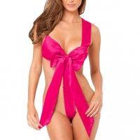 Unwrap Me Satin Bow Pink