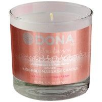 Dona Kissable Massage Candle - Vanilla